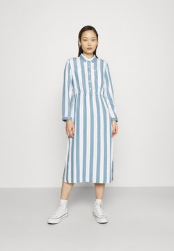 Lee - WORKER DRESS - Maxikleid - dawn blue