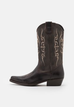Kentucky's Western - UNISEX  - Cowboy-/Bikerboot - madison testa di moro/roc grey