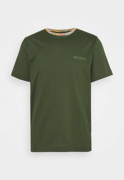 Missoni - MANICA CORTA - T-shirt print - dark green