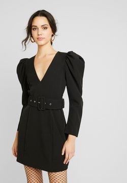 Nly by Nelly - BELTED PUFF DRESS - Cocktailkleid/festliches Kleid - black
