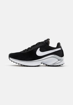 Nike Sportswear - D/MS/X WAFFLE - Trainers - black/white/metallic silver