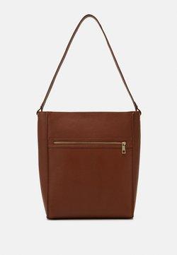Zign - LEATHER - Shopping Bag - cognac