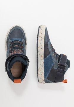 Geox - ALONISSO BOY - Sneakers hoog - navy/orange