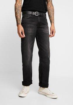 Burton Menswear London - BELTED  - Straight leg jeans - grey