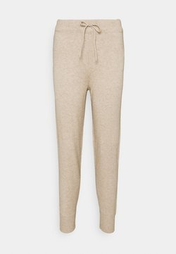 Vila - VIRIL PANT - Jogginghose - natural melange