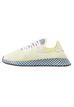 adidas Originals - DEERUPT RUNNER - Sneaker low - yellow tint/footwear white/legend marine