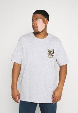 Jack´s Sportswear - PRINTED TEE  - T-shirt imprimé - grey mel