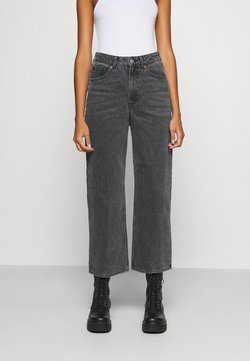 Monki - MOZIK - Jeans Relaxed Fit - black / dark grey