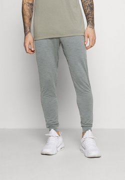 Nike Performance - PANT DRY YOGA - Jogginghose - smoke grey/iron grey/black