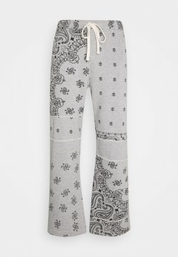 Jaded London - CUT AND SEW PAISLEY - Jogginghose - grey