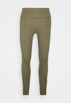 Cotton On Body - STITCHED TO PERFECTION 7/8  - Tights - deep moss