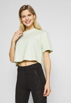Calvin Klein Performance - CROPPED SHORT SLEEVE  - T-Shirt print - green