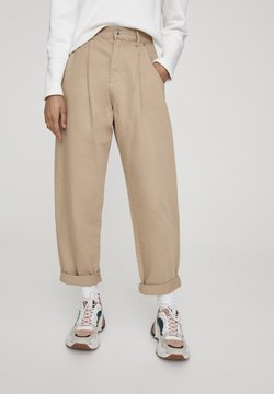 PULL&BEAR - SLOUCHY - Jeans Relaxed Fit - brown