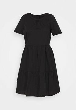 Vero Moda Curve - VMGULVA ABOVE KNEE DRESS - Freizeitkleid - black