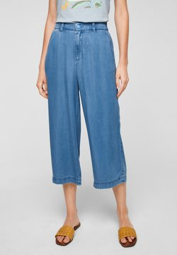 s.Oliver - LUCHTIGE - Jeans Straight Leg - blue lagoon