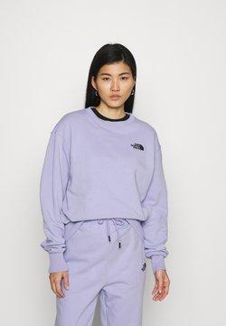 The North Face - OVERSIZED ESSENTIAL CREW - Collegepaita - sweet lavender