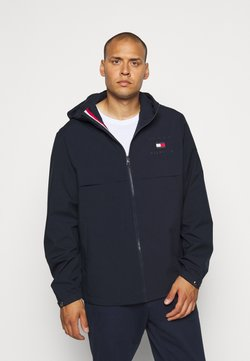 Tommy Hilfiger - HOODED JACKET - Summer jacket - blue
