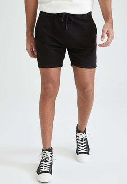 DeFacto - SLIM FIT - Shorts - black
