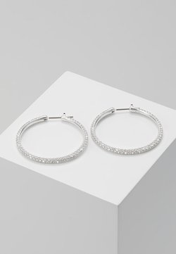 Swarovski - HOOP - Earrings - silver-coloured