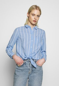 Tommy Jeans - Hemdbluse - white/moderate blue