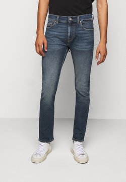 7 for all mankind - RONNIE LUXVINDEFBLU - Slim fit jeans - dark blue