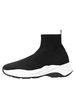 Bershka - MIT ELASTISCHEM SCHAFT - Sneaker low - black