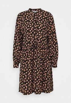 Moss Copenhagen - BENNA BEACH DRESS - Blusenkleid - black