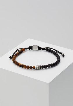 Fossil - VINTAGE CASUAL - Bracelet - braun/schwarz