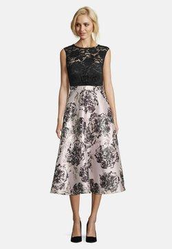 Vera Mont - MIT SPITZE - Cocktailkleid/festliches Kleid - black/cream
