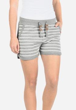 Blendshe - KIRA - Shorts - grey denim