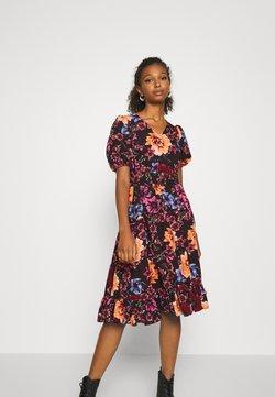 Vero Moda - VMABELIA BUBBLE DRESS - Vestito estivo - plum perfect/abelia