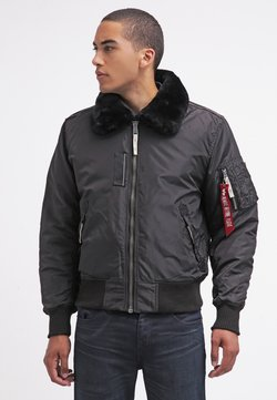Alpha Industries - INJECTOR III - Blouson Bomber - black