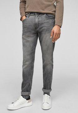 Q/S designed by - Jeans Straight Leg - light grey