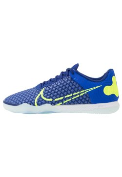 Nike Performance - REACTGATO  - Fußballschuh Halle - racer blue/volt/deep royal blue/white