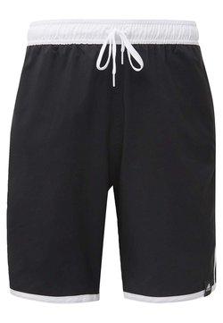 adidas Performance - 3-STRIPES CLX SWIM SHORTS - Szorty kąpielowe - black