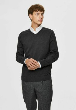 Selected Homme - Maglione - antracit