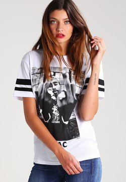 Urban Classics - 2PAC - T-shirt con stampa - white