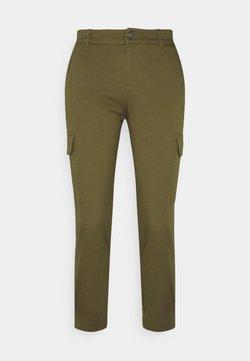 Even&Odd Petite - Pantalones cargo - khaki
