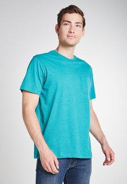 Eddie Bauer - LEGEND  - T-Shirt basic - sattes türkis