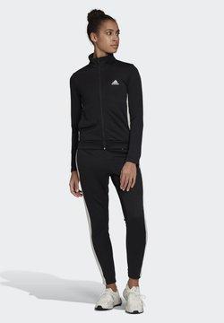 adidas Performance - TEAM SPORTS TRACKSUIT - Survêtement - black