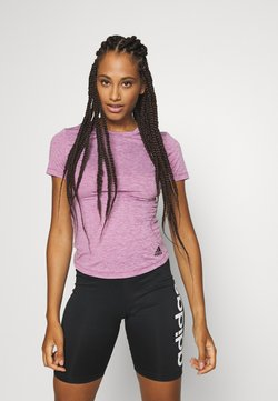 adidas Performance - TEE - T-Shirt basic - purple