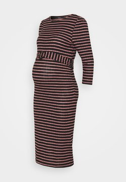 Supermom - DRESS STRIPE - Maxikleid - rosette