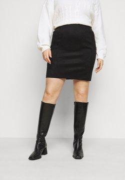 Vero Moda Curve - VMCAVA SKIRT - Minirock - black