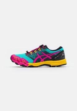 ASICS - FUJITRABUCO SKY - Zapatillas de trail running - sea glass/pink glow
