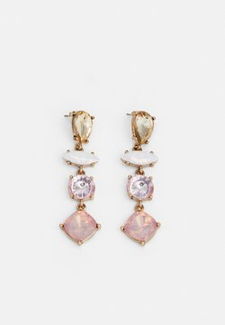 Pieces - PCLILA EARRINGS - Earrings - gold-coloured/light pink