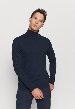 INDICODE JEANS - BURNS - Pullover - navy