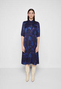PS Paul Smith - DRESS 2-IN-1 - Blusenkleid - dark blue