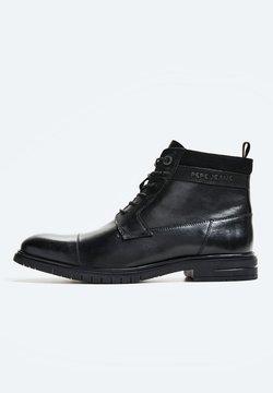 Pepe Jeans - THOMAS FLEX - Bottines à lacets - black