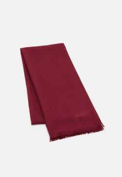 HUGO - UNISEX - Écharpe - dark red