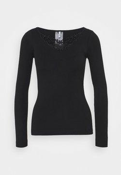 ONLY - ONLKIRA LIFE TOP  - Bluzka z długim rękawem - black